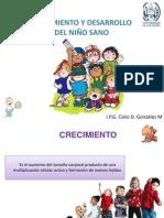 Crecimiento y desarrollo del niño sano