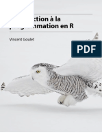 Goulet Introduction Programmation R