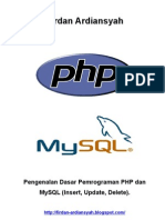 Pemrograman PHP & MySQL Sederhana - Firdan Ardiansyah.