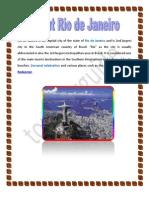 About Rio de Janeiro