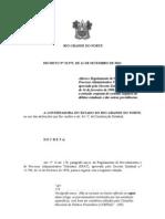 Decreto 22.972 Altera Regulamento Para Processo Administrativo Tributario
