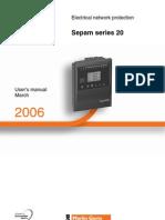 Notice Sepam Serie20 En