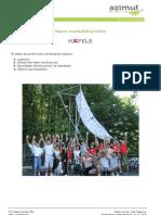 Raportul Team Buildingului alături de Hefele