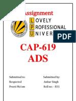 Ads Assignment