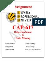 Datawarehouse assignment