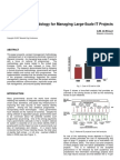 2007 - A Methodology for Managing Large Scale IT Projects