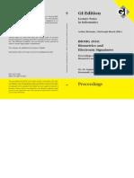 2010 - BIOSIG 2010 Proceedings