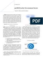 2010 - Public Value and ROI in Government Projects