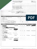 Denise Andrews False Police Report
