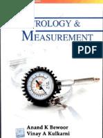 Metrology and Measurment by Vinay a Kulkarni,Aanand Bewoor