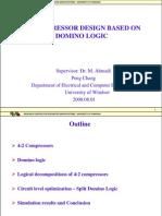 Full adder using domino logic