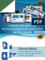 Internet ,site web-Très bonne compagnie de construction de site internet