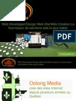 Web Développer/Design Web Site/Web Création-Le fournisseur de solutions web le plus fiable!