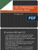 DERECHO DE LA PROPIEDAD PRIVADA EN EL PERÚ-2.