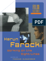 Harun Farocki Working on the Sightlines Ed. Thomas Elsaesser