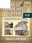 Paper Modelling Guide