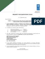 RfQ - Two Public Buldings in Srebrenica Energy Audit SRRP