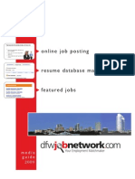DfwJobNetwork Media Guide 4-Pg