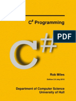 C# Programming - Rob Miles