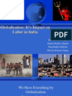 Globalization- It's Impact on Labor in India