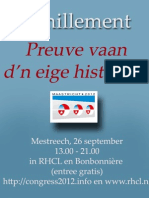 Poster Famillement,  26 september Maastricht - Maastrichtsdialect