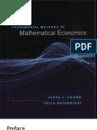 Chiang a. Fundamental Methods of Mathematical Economics 4ed