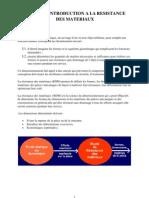 03 Introduction a La Resistance Des Materiaux