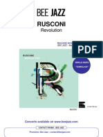 "Press release of "" Revulotion "" by RUSCONI (BEE056)"