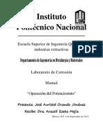 Manual Del Potenciostato