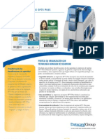 FOLLETO DE IMPRESORA SP75 DATACARD MEXICO  ID SMART TECH