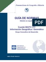 Normas ISO - Información Geográfica / Geomática