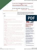 LDAP Manager Java Code Exam...