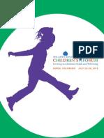Aspen Childrens Forum Program