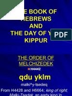 Hebrews and Yom Kippur