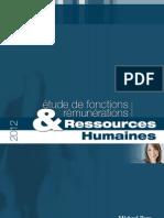ETUDE DE FONCTIONS ET RÉMUNÉRATIONS RH 2012 (MICHAEL PAGE)