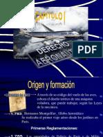 Capítulo I Derecho Aeronáutico