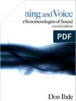 Ihde, Don - Listening & Voice - Phenomenologies of Sound (2nd Ed, 2007)