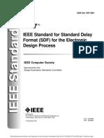 Ieeestd1497 2001sdf Format for Edp
