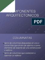 COMPONENTES ARQUITECTONICOS