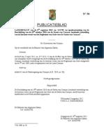PB 2012 #50. Reglement Van Orde Van de Staten Van Curacao