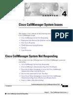 Cucm Issues