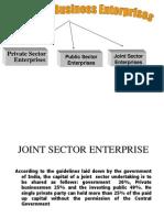 Forms of Business Enterprises