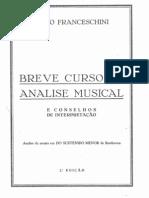 Furio Franceschini - Breve curso de análise Musical e conselhos de interpretação - 2ª edição.
