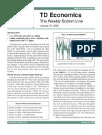The Weekly Bottom Line - Jan 16 2009