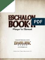 Eschalon Book II Players Manual