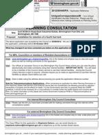 Planning consultation Document Ls103