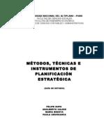 LIBRO DE TÉCNICAS DE PLANIFICACIÓN