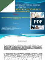 estrategias y metodología de la enseñanza de la informática
