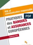 Etude RSE Bancassurances