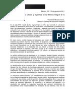150811diversidad_social Cultural y LinguisticaRIEB_2011